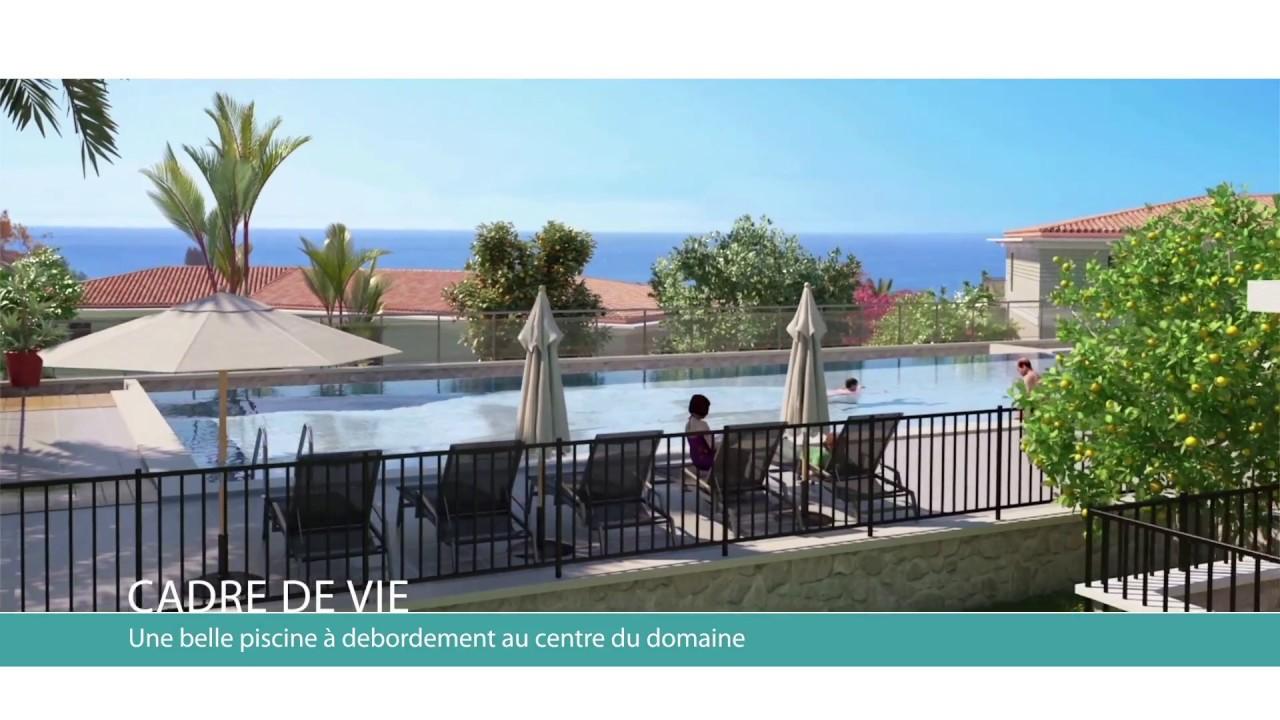 Roquebrune cap martin parc bellevue youtube - Piscine azureva roquebrune cap martin ...