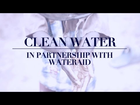 H&m conscious foundation partners with wateraid for clean water