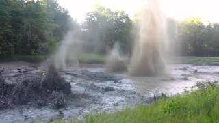 Crazy! Golfer Catches Exploding Pond As Methane Erupts In Canada