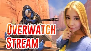 Overwatch Stream with Female Team Scrims & Competitive Gameplay with Drift0r, JWoDesigns, Choco