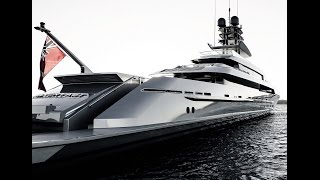 Silver Fast  €79.5 million, The ultimate Bond villain superyacht
