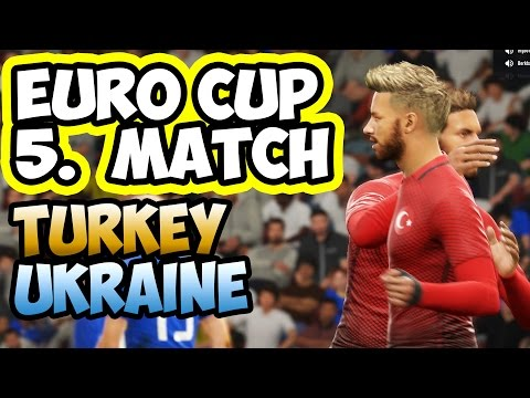 FIFA 17 PRO CLUB / IFVPA / EURO CUP / UKRAINE VS TURKEY / 5.Match
