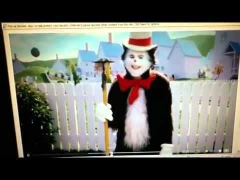 fa9a186e Cat In The Hat (Mike Myers) funny scene - YouTube
