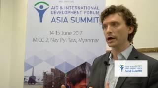Aid & Development Asia Summit 2017 - Interview with Drew Johnson, Mercy Corps