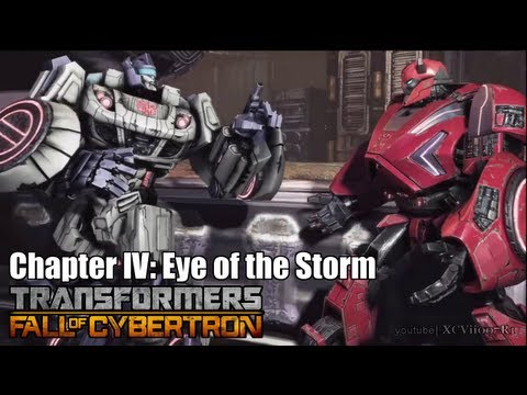 Transformers: Fall of Cybertron - Chapter 4: Eye of the Storm