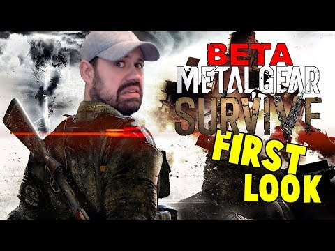 Metal Gear Survive BETA Gameplay PC | First Look