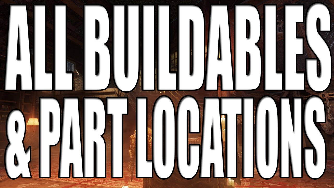All Buildable Part Locations And Built On Shadows Of Evil Black Ops 3 Zombies Youtube