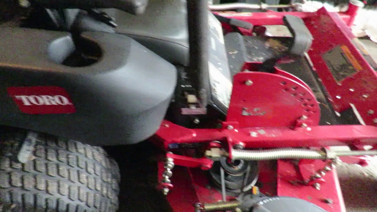 Toro Z Master zero turn lawn mower spring start up and some of my equipment!