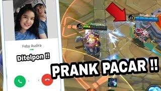 PRANK PACAR PAKE JOHNSON !!! LANGSUNG MARAH DI TELPON TERUS !! - Mobile Legend Indonesia