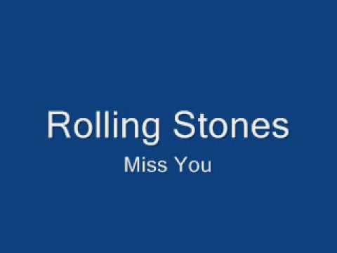 Rolling Stones-Miss You