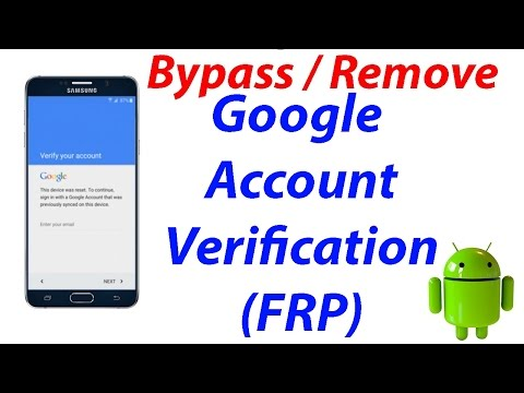 Bypass google account 2017 method tested (Factory reset protection FRP) on all Android Devices