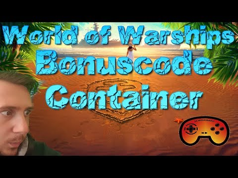 Bonuscode für einen Container! - World of Warships- Gameplay - Deutsch/German