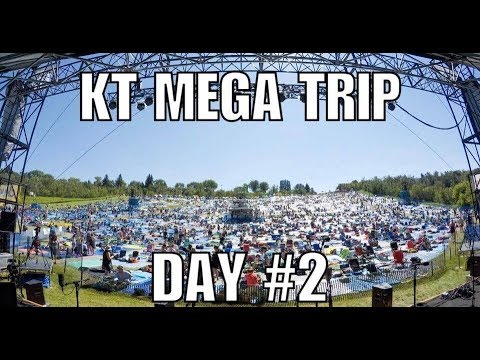 "KT West Coast Throwdown Day #2: ""The Edmonton Folk Fest!!"""
