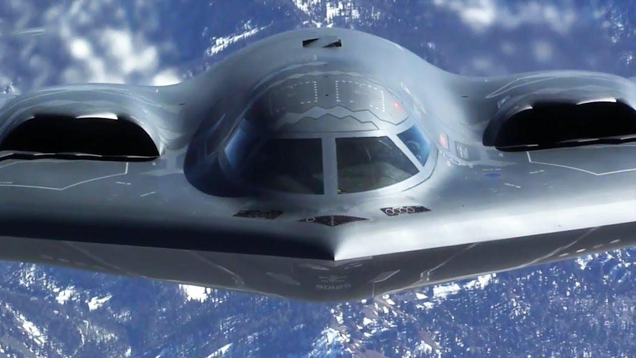 b 2 spirit stealth strategic bomber in action youtube. Black Bedroom Furniture Sets. Home Design Ideas