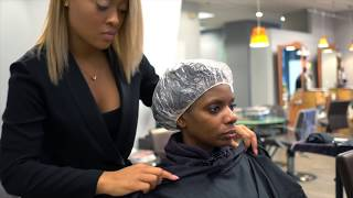 Transformation | STS Express Treatment on Natural Hair with Lacey Fields