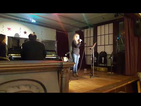 """Brittany Gill singing """"O Holy Night,"""" at the Concert with Wayne Hoff - Part 1"""
