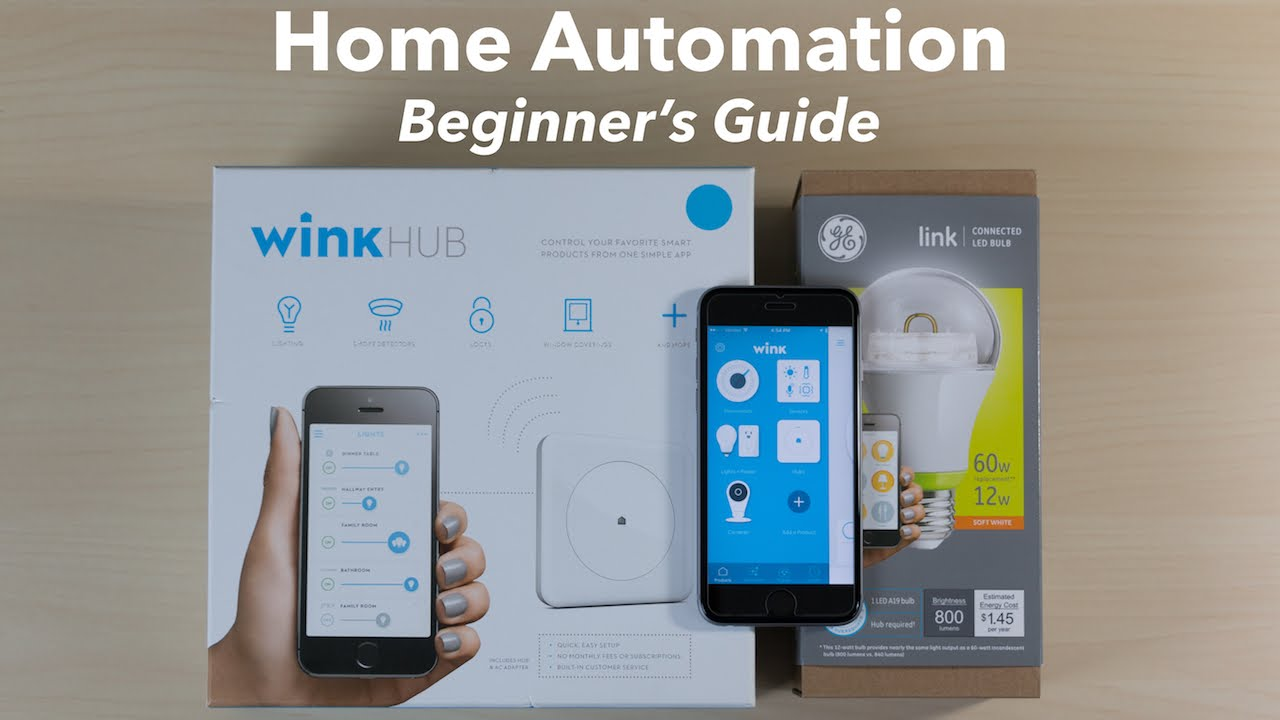 Home automation basics with wink hub and nest youtube for Home automation basics