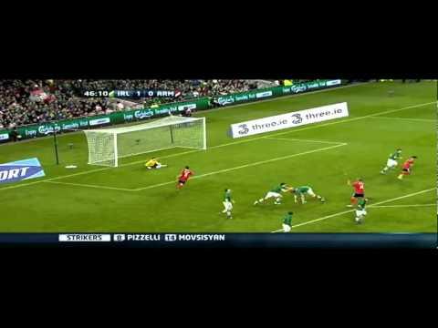 Ireland Republic Vs. Armenia Highlights 11/10/11