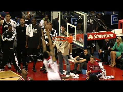 Glen Rice Jr. With the Putback Dunk to Force OT