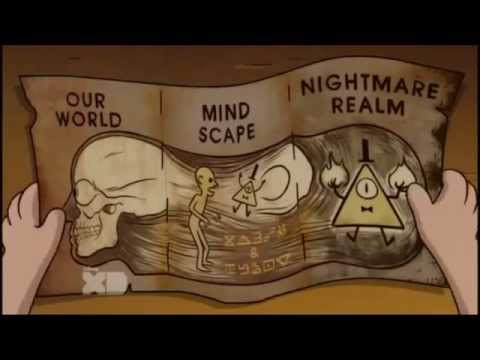 Gravity Falls Wallpaper Bill Gravity Falls Bill Cipher And Stanford Made A Deal Youtube