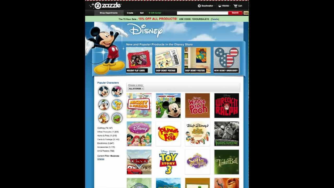 How to Customize Disney Christmas Cards through the Disney Store on ...