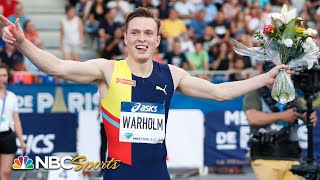 Karsten Warholm dominates field for 400 hurdles Diamond League victory | NBC Sports