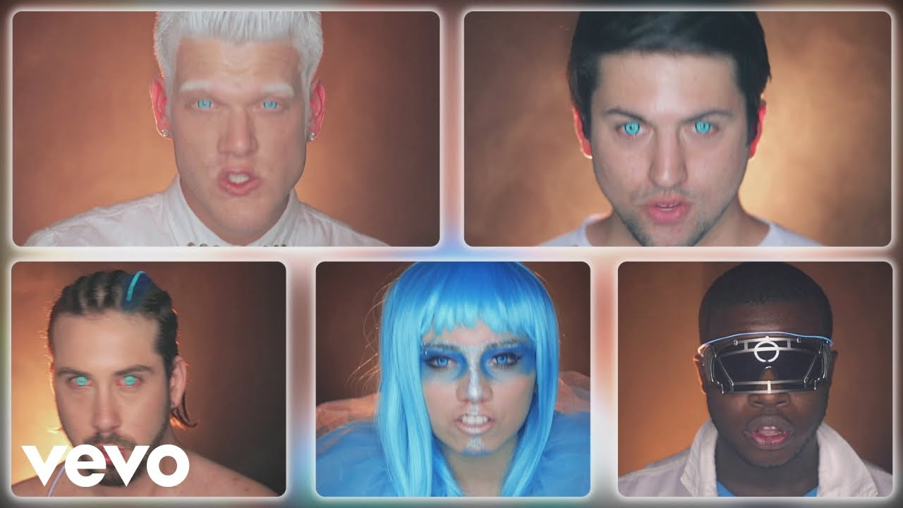 Pentatonix Christmas Youtube.Official Video Daft Punk Pentatonix