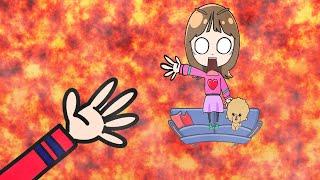 マグマ!? テレビから溶岩が出たー!こうくんねみちゃんアニメ