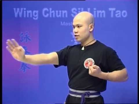 Wing Chun kung fu siu lim tao  form  applications Lessons 110