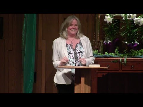 "Rev. Karen Lindvig Easter Sermon ""Crossing the Threshold""—Seattle Unity—04-01-2018"