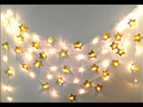 Easy and Beautiful Diwali/Christmas Decoration, DIY Lighting idea for Diwali/Christmas