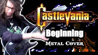 Castlevania III BEGINNING || METAL COVER by ToxicxEternity