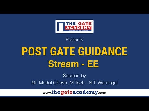 Electrical Engineering | Post GATE Guidance for M.Tech in IIT/NIT & PSU jobs