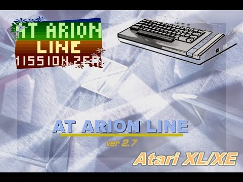 Atari XL/XE new game -=At Arion Line: Mission Zero=- v.2.7