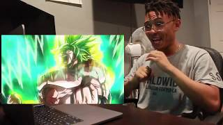 Dragon Ball Super: Broly Trailer #3 - (English Sub) REACTION !!!