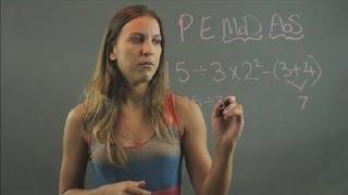 Math PEMDAS Problems : Elementary Math