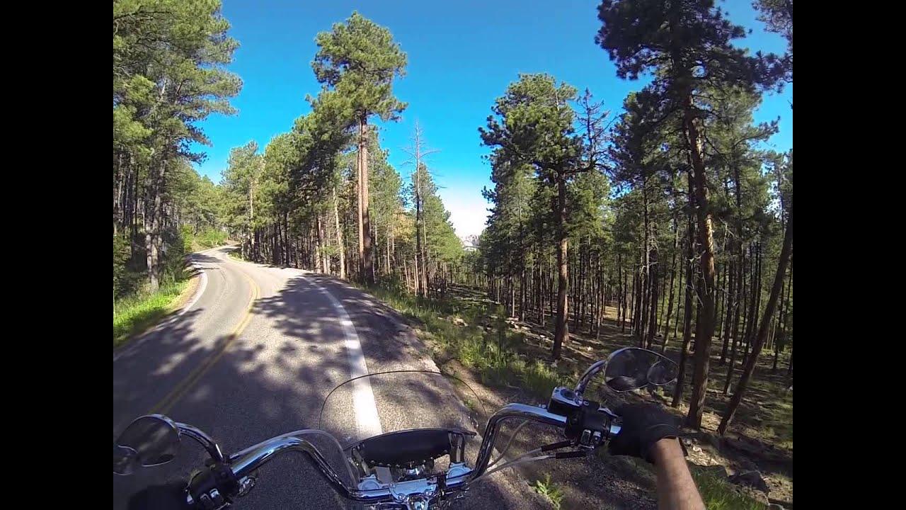 2013 black hills south dakota  iron mountain road and