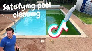 Satisfying pool cleaning