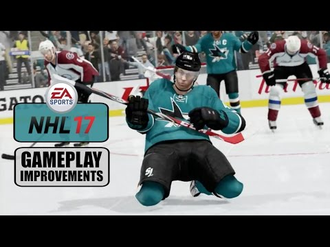 NHL 17: Gameplay Improvements (Net Battles, Goalies, Celebrations)