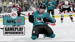 NHL 17: Gameplay Improvements (Net Battles, Goalies, Celebrations)