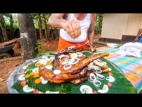 Village Food India - UNSEEN INDIAN FOOD + Queen of Chutney in Kerala!!
