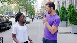 Billy on the Street: Lupita Nyong'o Tries Stand Up Comedy