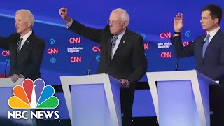 From 29 Hopefuls To Six In Nevada: Look Back At The 2020 Democratic Race | NBC News NOW