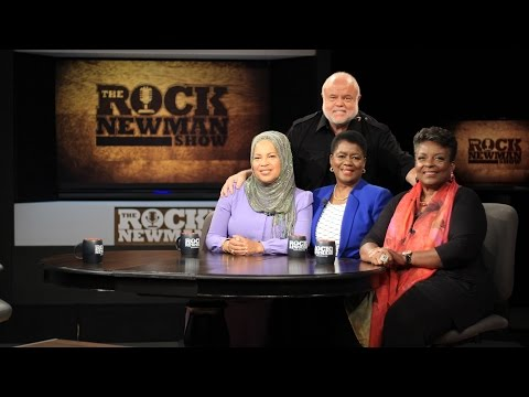 Women of the Million Man March on The Rock Newman Show