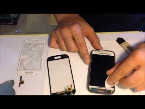 Samsung galaxy ace style sm g310 replace screen sostituzione vetro