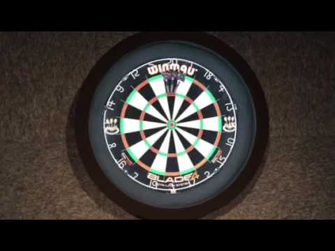 Video Dartbord verlichting surround - YouTube