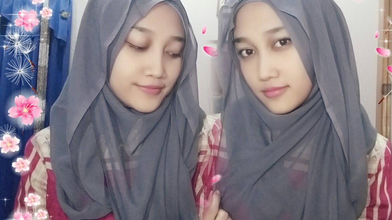 Tutorial Hijab Segiempat Simple YouTube