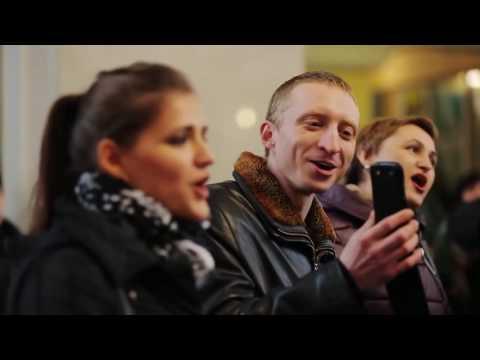 Flash-Mob Chöre - Friedensinitiative in ukrainischen und russischen Bahnhöfen