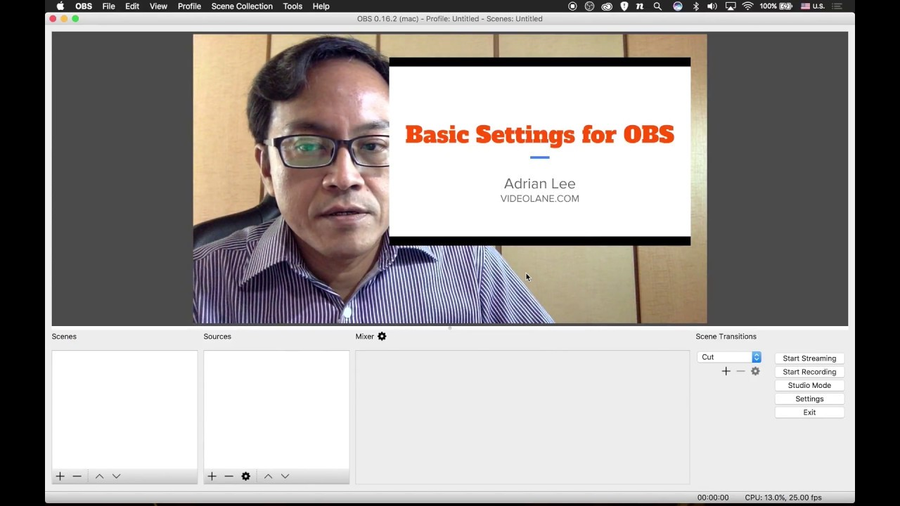 Best Obs Settings For Twitch Mac