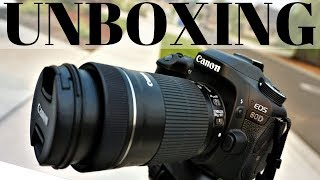 Canon 80D Premium Kit Unboxing EF-S 18-55 IS STM EF-S 55-250 IS STM DSLR Camera Special